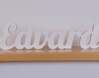 wooden letters/ wooden name sign/ wedding name sign/ personalized sign/ personalized wedding/ wall hanging letters/ baby name letters