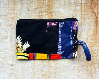 Funky Makeup Bag - handy Zip-up travel Pouch.