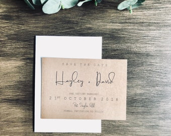 SIMPLY STYLISH | Save The Date Invitations