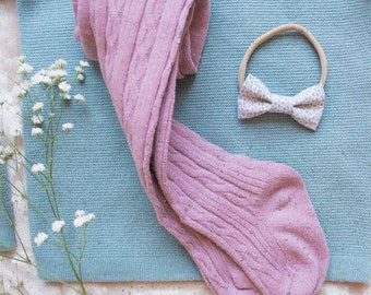 100% cotton bow! Prefect for spring