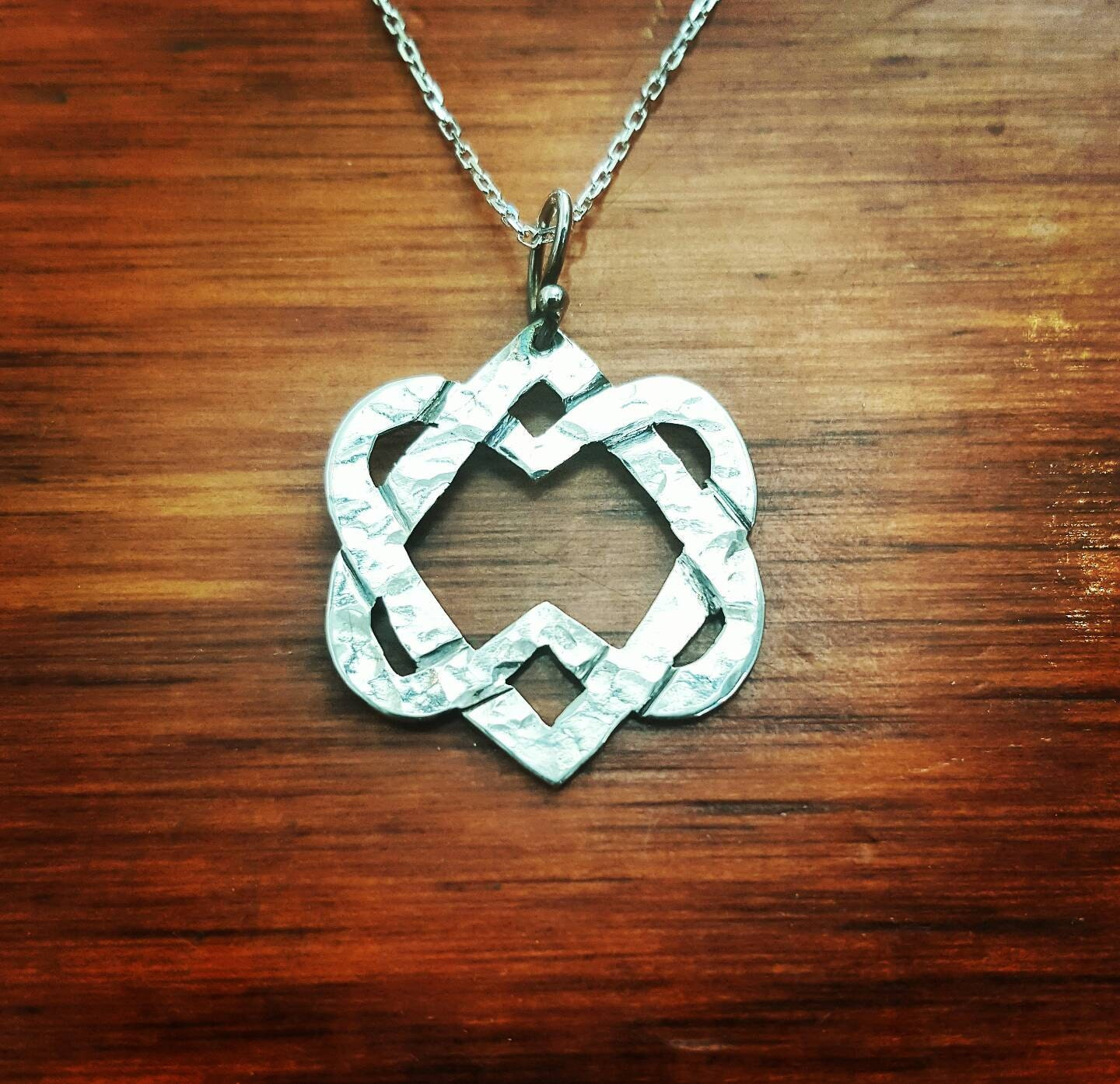 Unified hearts leonard cohen two hearts silver necklace zoom aloadofball Image collections
