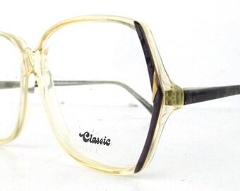 vintage glasses retro eye glasses vintage glasses oversized eyeglass frames vintage eyeglasses eyeglasses plastic frame clear eyewear purple