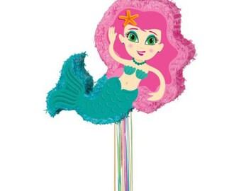 Mermaid Under the Sea Pinata 22 inches
