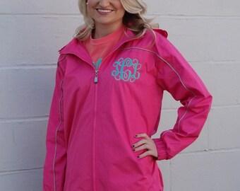 Monogrammed Rain Jacket Personalized Rain Coat