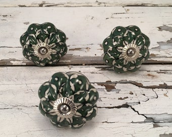 Knobs, Decorative Pull Knob, Craft Supply, Furniture Upgrade Ceramic Drawer Pulls, Home Improvement Cabinet Supplies