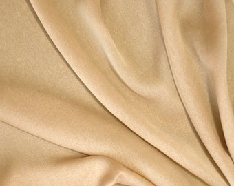 "JN00132 Gold 63 Chiffon Two Tone Soft Deep Drape Smooth Sheer Lightweight Fashion Home Decor Crafting 58/60"" Fabric By The Yard"