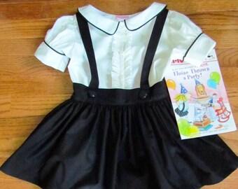 Eloise School Girl Skirt and Blouse Set