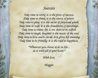Scroll - Success