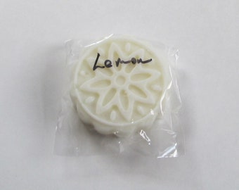 LEMON REFILL   Solid Lotion Bar made with doTerra essential oil