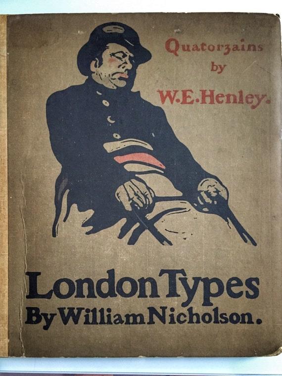 London Types by Sir William Nicholson