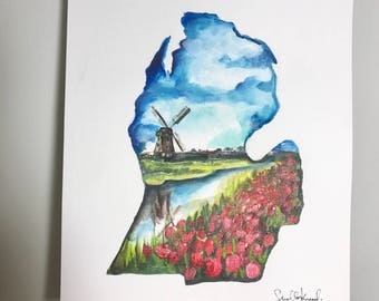 Holland Michigan print 11x14!