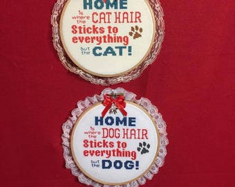 dog or cat wall decor