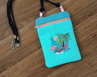 Statement Bag - Palm Tree Sunrise by VIDA VIDA CtAZC