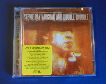Stevie Ray Vaughan And Double Trouble 2- CD Set Live At Montreux 1982 &1985