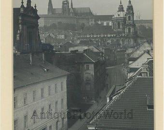 Prague Czech Republic vintage art photo B. Stastny