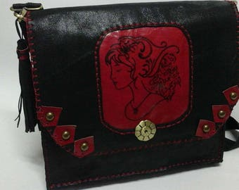 Real Leather handmade Women Bag
