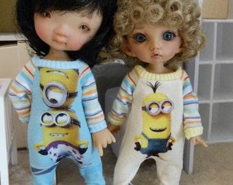 Pukifee/lati yellow Minions overall