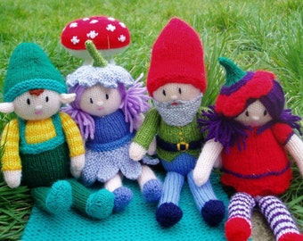 Knitting eBooklet - Little People, Enchanted Wood