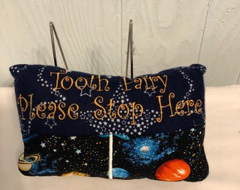 Space Travel Tooth Fairy Pillows