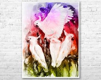 OLENA.ART Statement Clutch - umbrella book cake bird by OLENA.ART tIN39h