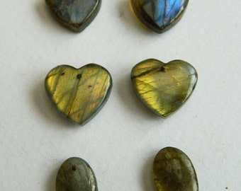 Earring supply collection Labradorite Spectrolite pairs,Teardrop briolette,oval Earring beads-Supplies