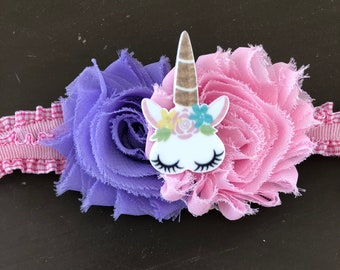 Unicorn Baby headband