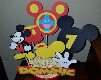 10 Mickey Mouse Centerpiece