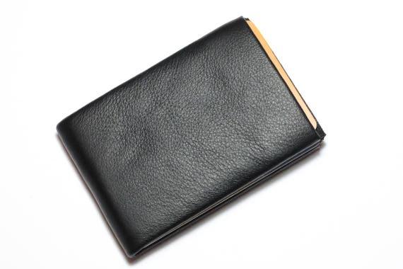 Minimalist wallet, mens wallet, leather wallet, RFID Handmade card holder, slim wallet, modern design wallet, Personalized Leather Wallet