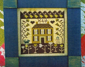 Valentine Garden by Carriage House Samplings Counted Cross Stitch Pattern/Chart