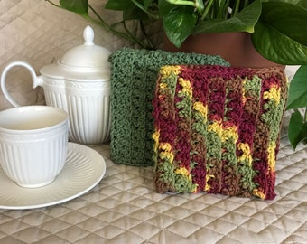 Crochet Dishcloths Housewarming Gift