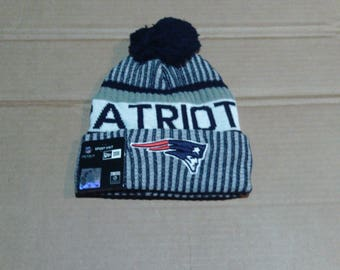 New England Patriots Knit Winter Hat - Mens one size fits all