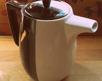 Vintage Mid Century Modern Ceramic Tea Kettle