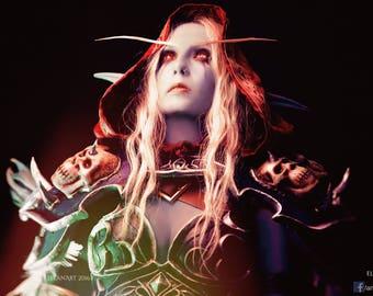 Sylvanas Windrunner, Warcraft, Cosplay A4 Print