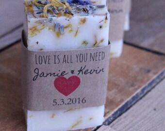 Bridal shower, wedding favors, bridal shower favors, rustic wedding, rustic wedding favors, soap favors, bridesmaids gifts, lavender favors,