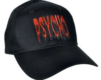 Blood Drip Psycho Hat Baseball Cap Alternative Horror - YDS-EP444-CAP