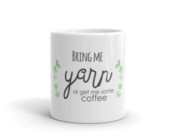 Coffee mug, knit, knitting, gift for her, mothers day gift, funny coffee mug, gift for knitters, ceramic mug, coffee lovers gift, yarn