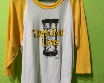 Vtg. Day Of Our Lives soap opera 1984 / size XL