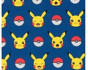 In Stock - Pokemon on Royal Blue From Robert Kaufman