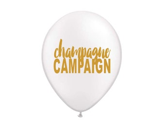 Champagne Campaign, Party Balloons, NYE Decor, Drink Champagne, Bachelorette Party, Girls Night Out, Balloons, Champagne Balloon, Champagne