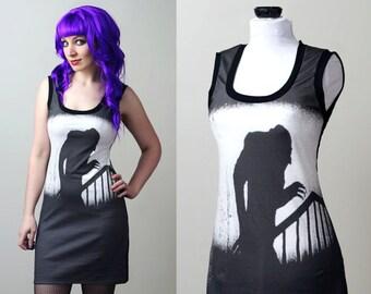 robe personnalisée d ' réservoir de vampire Nosferatu - film d'horreur halloween smarmyclothes