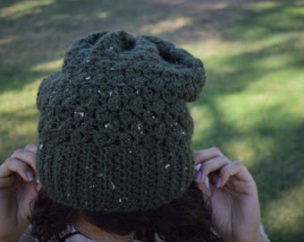 The Speckled Leaf Beanie