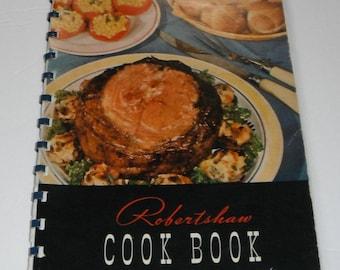 Robertshaw Cook Book Vintage Softcover Cookbook