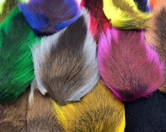 Large Northern Bucktail - Buck Tail Fly Tying Material, Deer Hair, Jig Tying, Lure Making, Fishing Crafts - 29 Colors Available (NB)