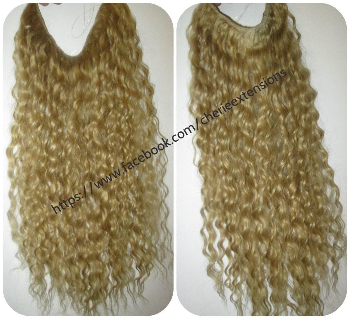 Balayage Dip Dye 8a Remy Deep Wave Curly Human Hair