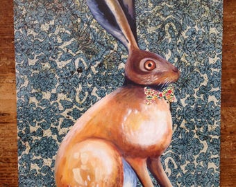 Hare Collage