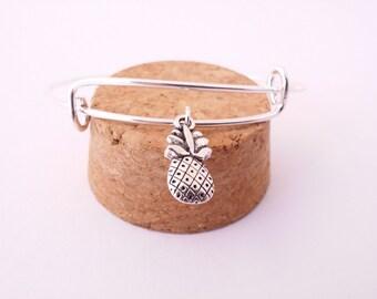 Pineapple bangle bracelet