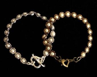 Anne Boleyns Everyday Pearl Bracelet