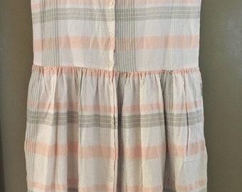 Vintage Eddie Bauer Outdoor Outfitter drop waist dress