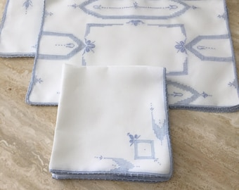 Lovely Linen Luncheon Set