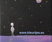 Mini canvas: Watch the St...